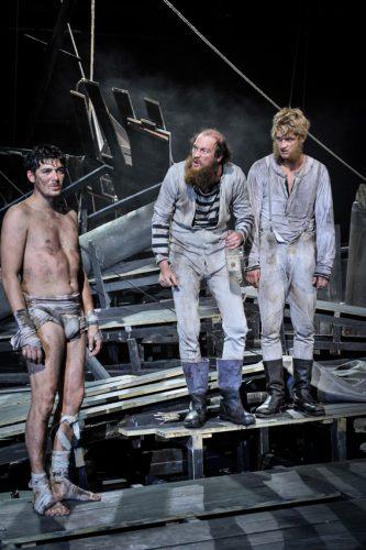 Timocin Ziegler (li.), Jean-Luc Bubert und Jakob Gessner.   © Arno Declair