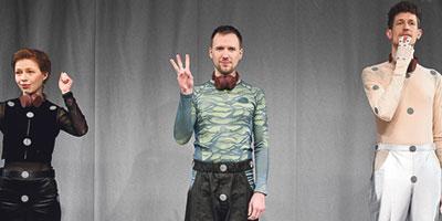 »Gehörlosen-Hörspiel« im Volkstheater